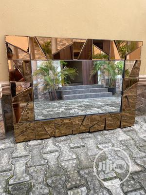 Gold / Bronze Colored Console Mirror. | Home Accessories for sale in Lagos State, Ajah