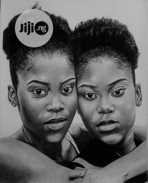 Portrait Drawing of Twins | Arts & Crafts for sale in Lagos State, Lekki