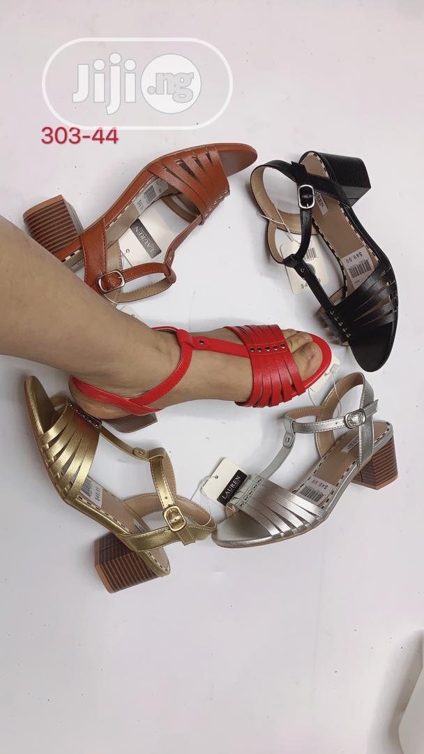 Block Heel Sandals | Shoes for sale in Apapa, Lagos State, Nigeria