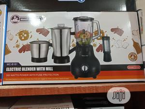 Master Chef 4 In1electric Blender /Grinder, Juicer and Mill | Kitchen Appliances for sale in Lagos State, Lagos Island (Eko)