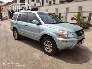 Honda Pilot 2003 EX 4x4 (3.5L 6cyl 5A) Blue   Cars for sale in Lagos State, Ogba