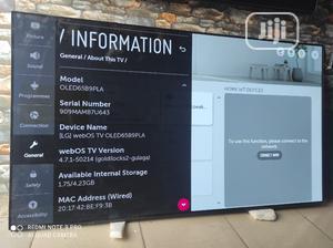 "65"" LG Oled Uhd 4K Hdr TV (Alpha 7 Gen 2 Processor)   TV & DVD Equipment for sale in Lagos State, Ojo"