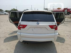 BMW X3 2007 3.0D Automatic White   Cars for sale in Lagos State, Ajah
