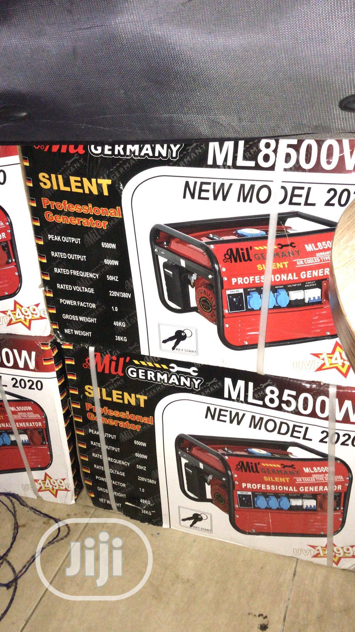 Archive: Mil Germany 6.5kva Generator