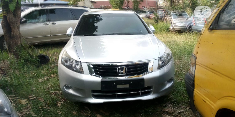 Honda Accord 2008 2.4 EX Automatic Silver