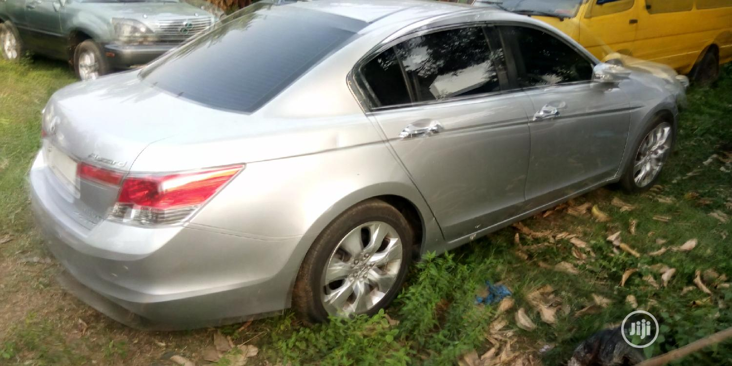 Honda Accord 2008 2.4 EX Automatic Silver | Cars for sale in Apapa, Lagos State, Nigeria