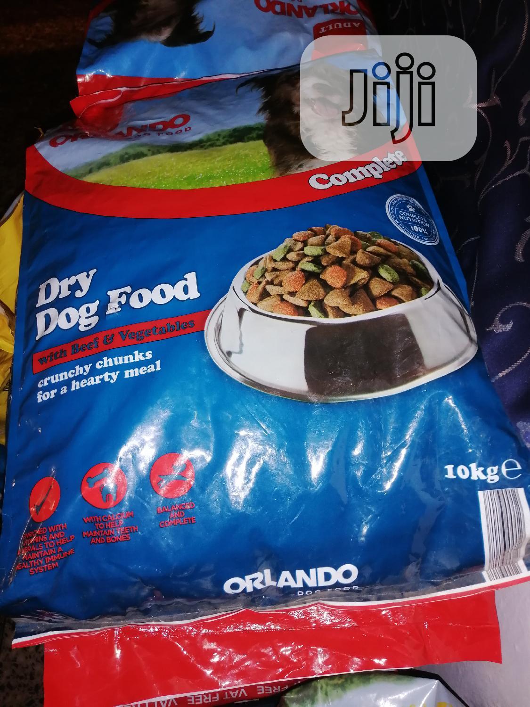Orlando Dog Food
