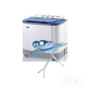Qasa Washing Machine - 8.8kg - With Free Iron ,Ironing Board   Home Appliances for sale in Abuja (FCT) State, Maitama