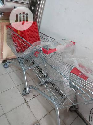 Supermarket Trolley 60ltrs | Store Equipment for sale in Lagos State, Ojo