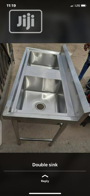 Double Sink Working Table | Restaurant & Catering Equipment for sale in Lagos State, Lekki