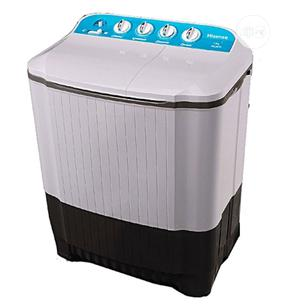 Hisense Twin Tube Washing Dry Spinning Machine 7kg WSJA751 | Home Appliances for sale in Lagos State, Ojo