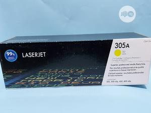 305A Laserjet Toner (Yellow), Ce412a | Computer Accessories  for sale in Lagos State, Ikeja