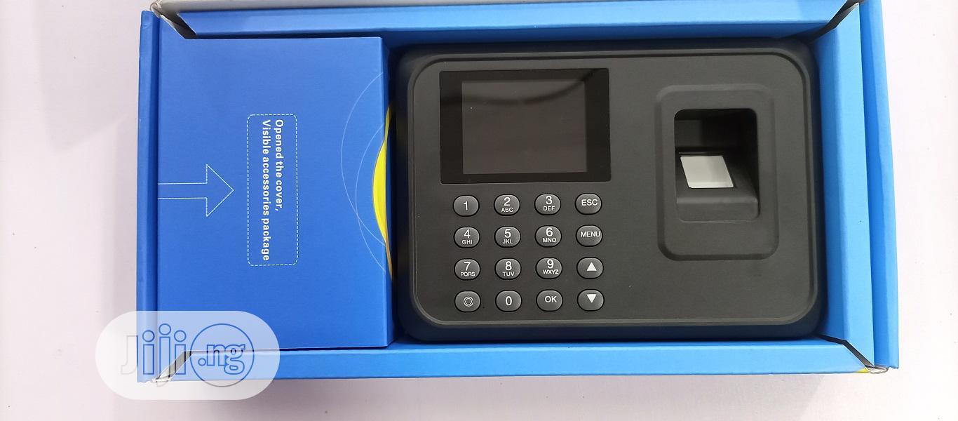 Biometric Fingerprint Time Attendance Machine Employee Check