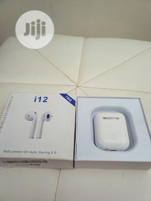 I12 Wireless Tws Bluetooth Earpiece   Headphones for sale in Enugu State, Enugu