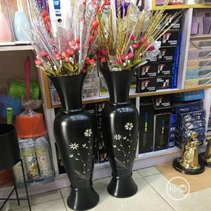 Polished Wood Belle Flower Vase Large Size | Home Accessories for sale in Lagos State, Ikoyi