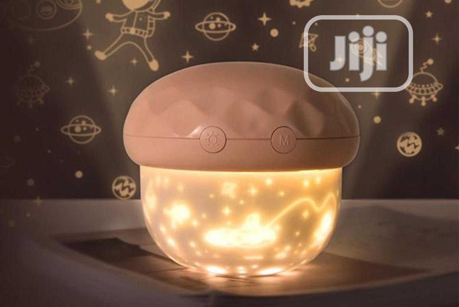 Mushroom Projector Light