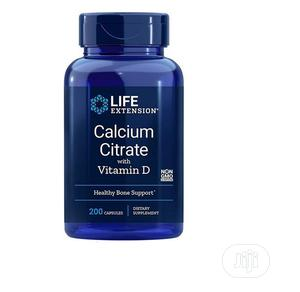 Life Extension Calcium Citrate With Vitamin D, 200 Vegetaria   Vitamins & Supplements for sale in Lagos State, Amuwo-Odofin