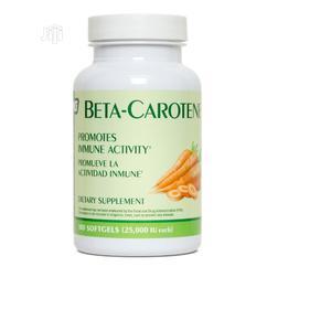Natura Genics Beta Carotene 100 Capsules 25,000 IU   Vitamins & Supplements for sale in Lagos State, Amuwo-Odofin
