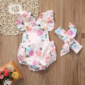 2 Piece Baby Girl Romper | Children's Clothing for sale in Lagos State, Lekki