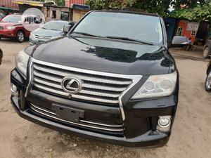Lexus LX 2015 570 Base Black   Cars for sale in Lagos State, Apapa