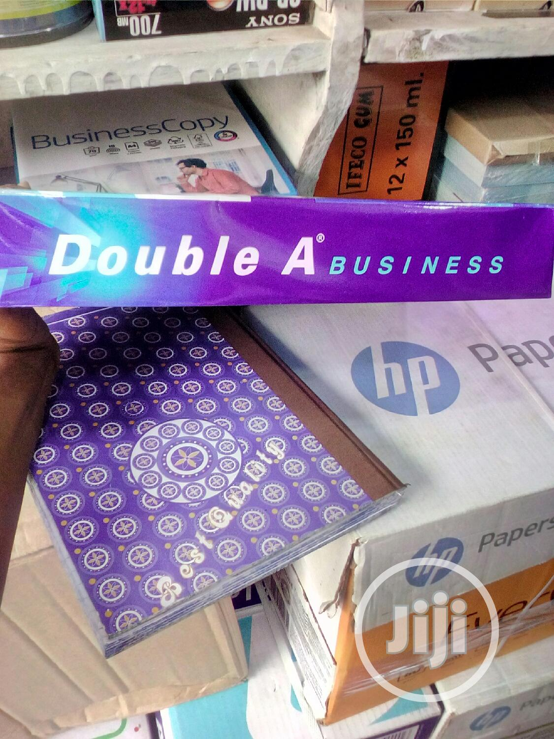Double a A4 Paper | Stationery for sale in Ikeja, Lagos State, Nigeria