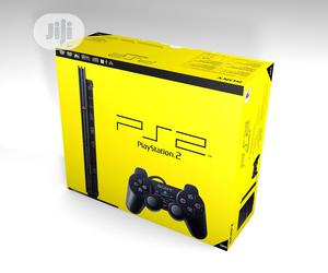 PS2 Slim Console + 2 Controllers + 15 Downloaded Games | Video Game Consoles for sale in Lagos State, Ojo