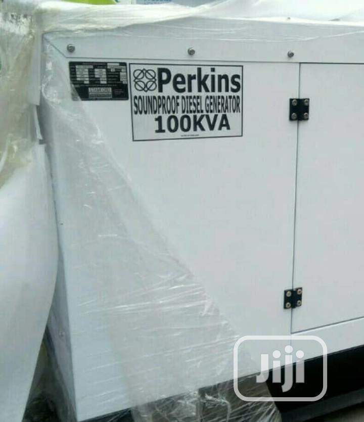 Original Perkins Generator 100kva