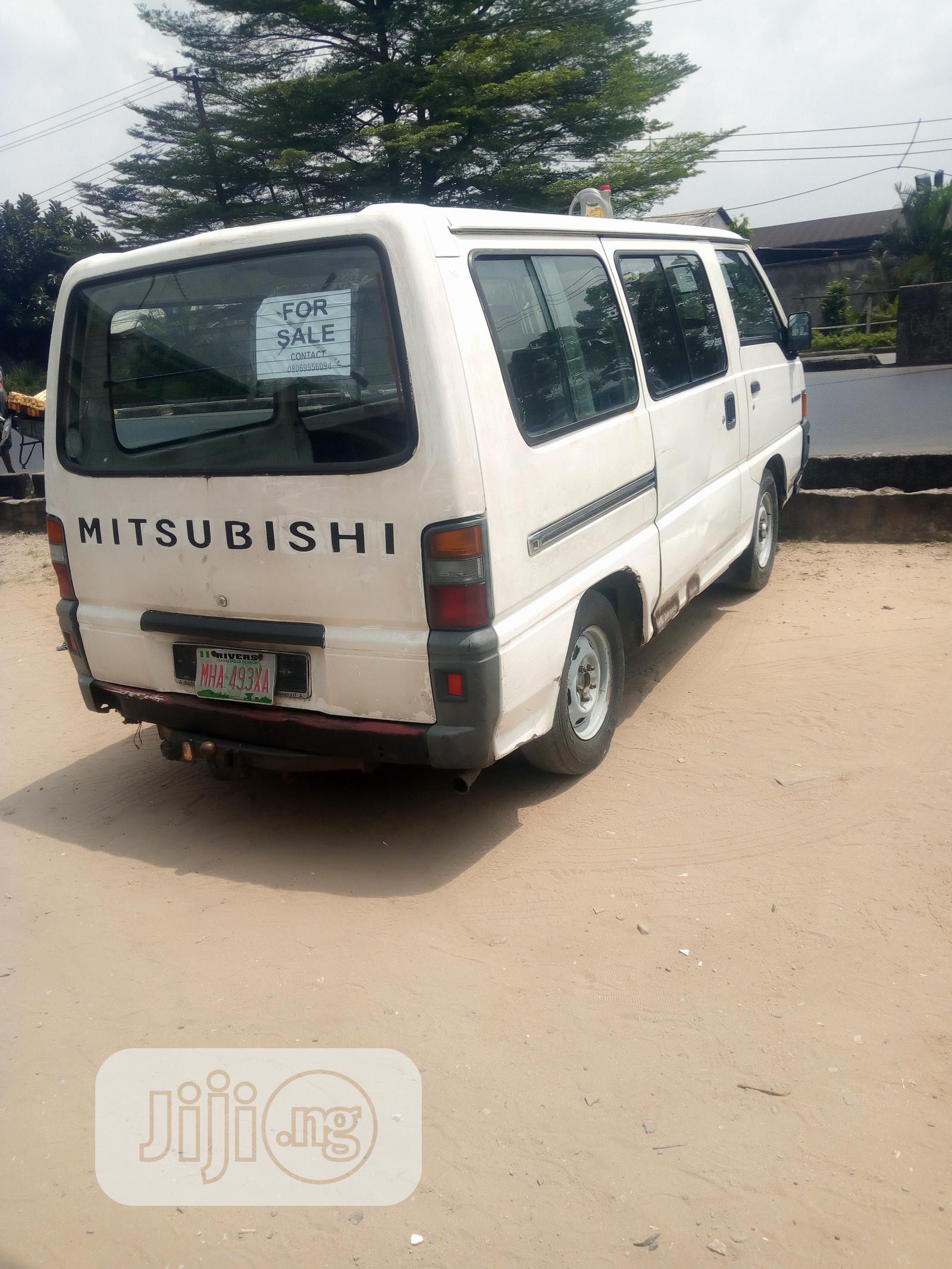 Archive: White Mitsubishi