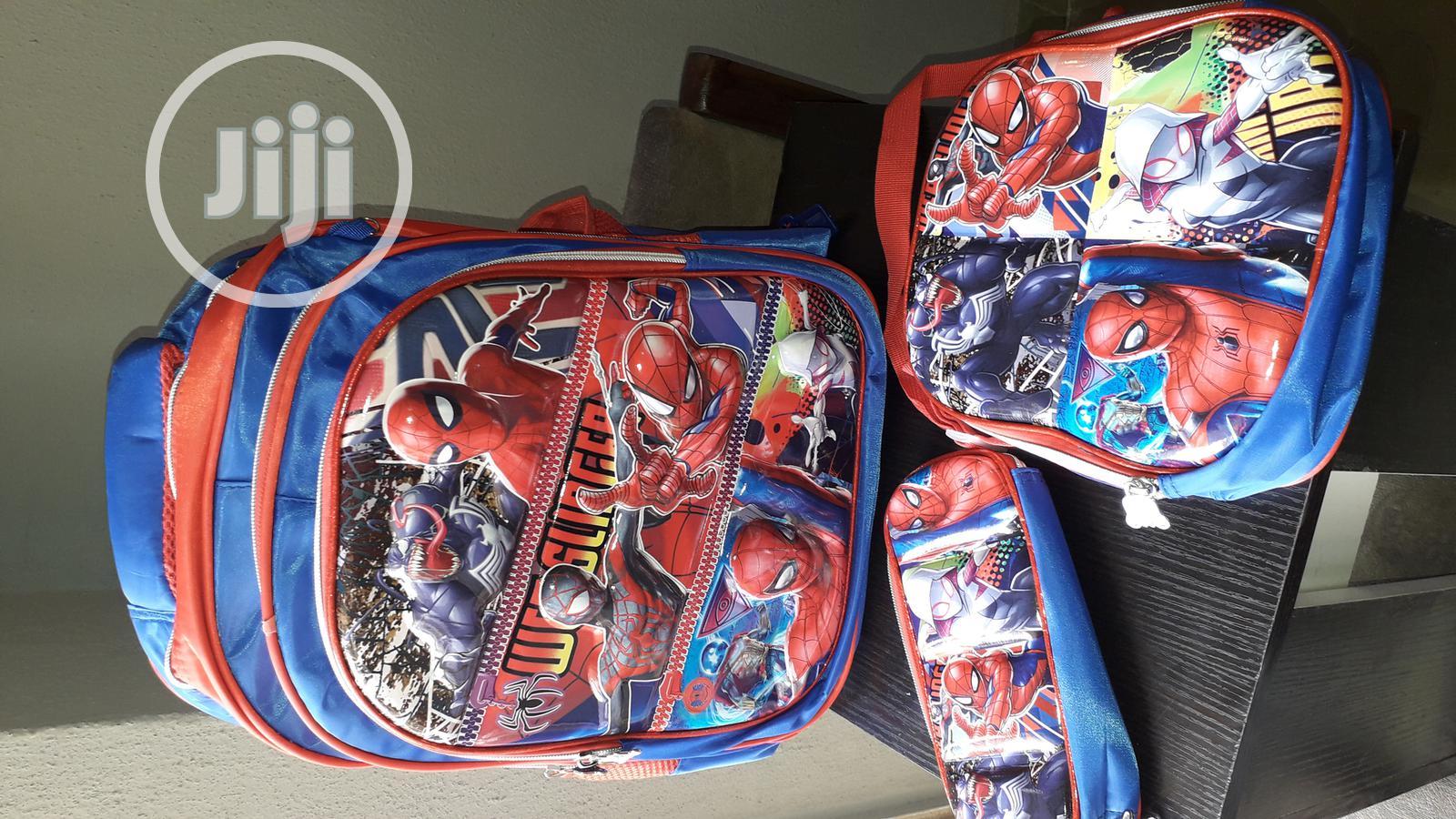 Archive: 3in1 Spiderman School Bag