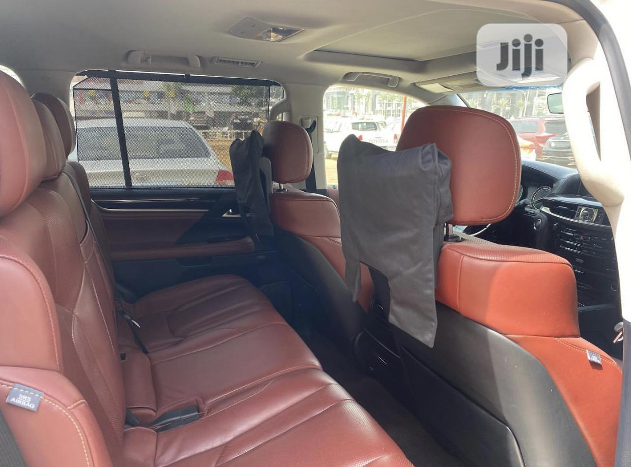 Lexus LX 2017 570 Base White | Cars for sale in Central Business Dis, Abuja (FCT) State, Nigeria