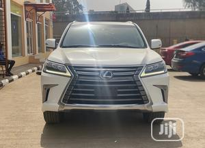 Lexus LX 2017 570 Base White | Cars for sale in Abuja (FCT) State, Wuse 2