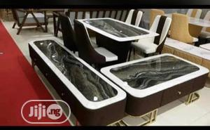 Executive Dinning Set+Tv Console and Center Table   Furniture for sale in Lagos State, Ikeja