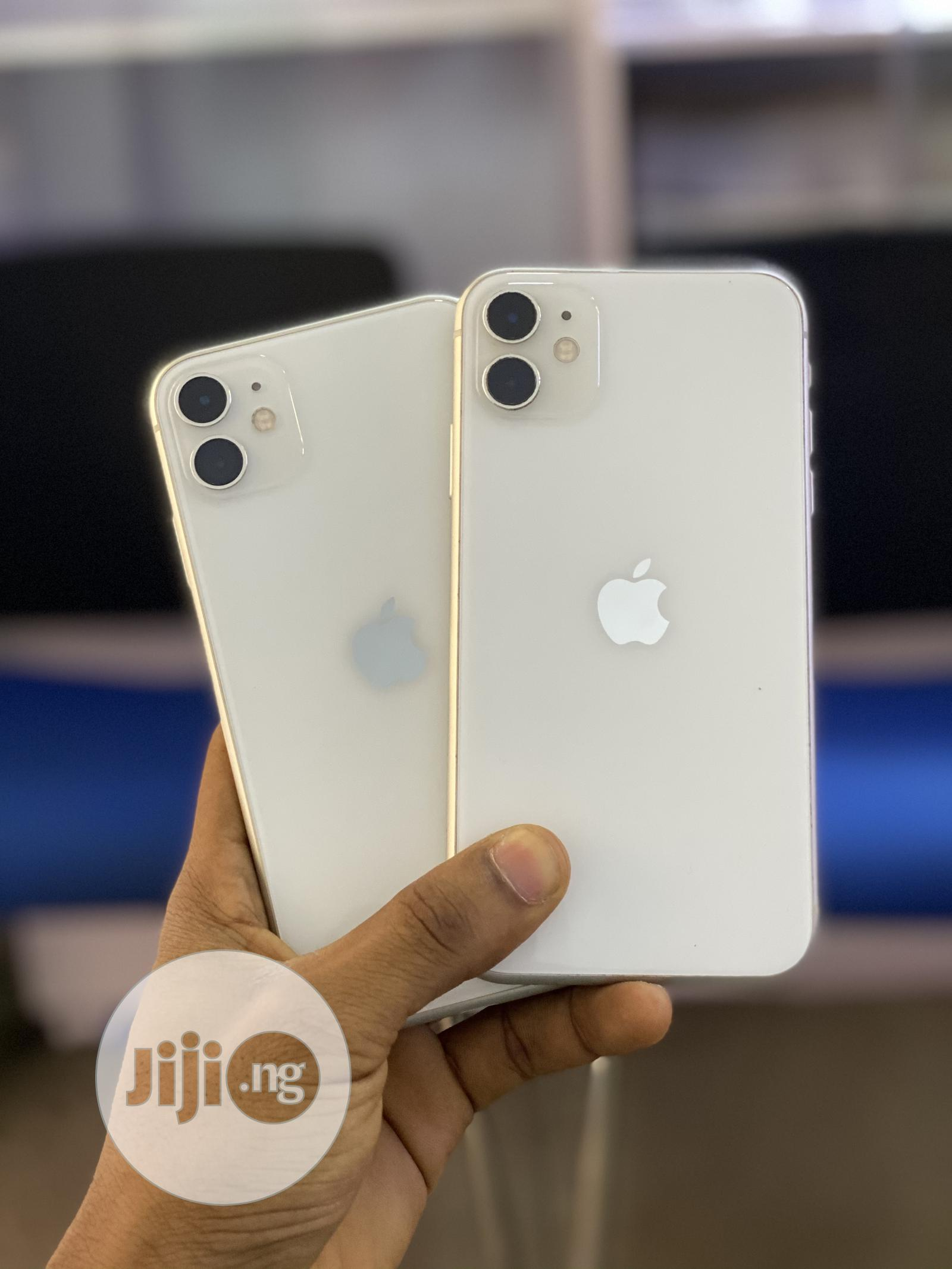 Apple iPhone 11 128 GB White | Mobile Phones for sale in Ikeja, Lagos State, Nigeria