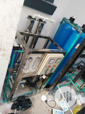 Installation of 500litres Reverse Osmosis Machine With Fiber   Manufacturing Services for sale in Lagos State, Orile