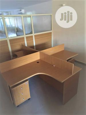 High Quality Workstation Table With 4 Side Drawer. | Furniture for sale in Lagos State, Lekki