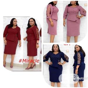 Sweet Cooperate Gown and Jacket | Clothing for sale in Delta State, Aniocha South