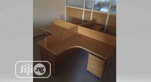 High Quality Workstation Table With 4side Drawer. | Furniture for sale in Lagos State, Victoria Island
