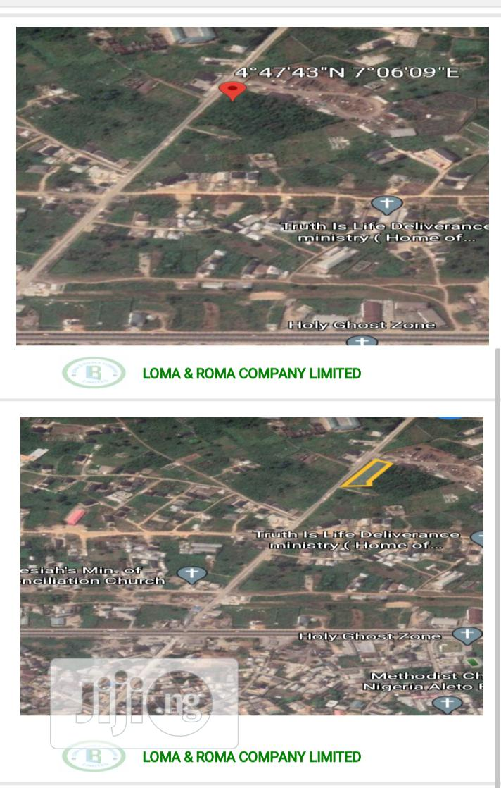 2 Plots of Virgin Land for Sale | Land & Plots For Sale for sale in Eleme, Rivers State, Nigeria
