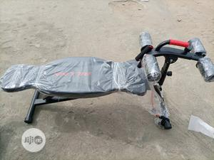 Fitness Adjustable Commercial Sit Up Bench | Sports Equipment for sale in Rivers State, Port-Harcourt