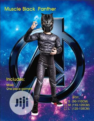 Lastest Edition Padded Black Panther Costume | Children's Clothing for sale in Lagos State, Lagos Island (Eko)