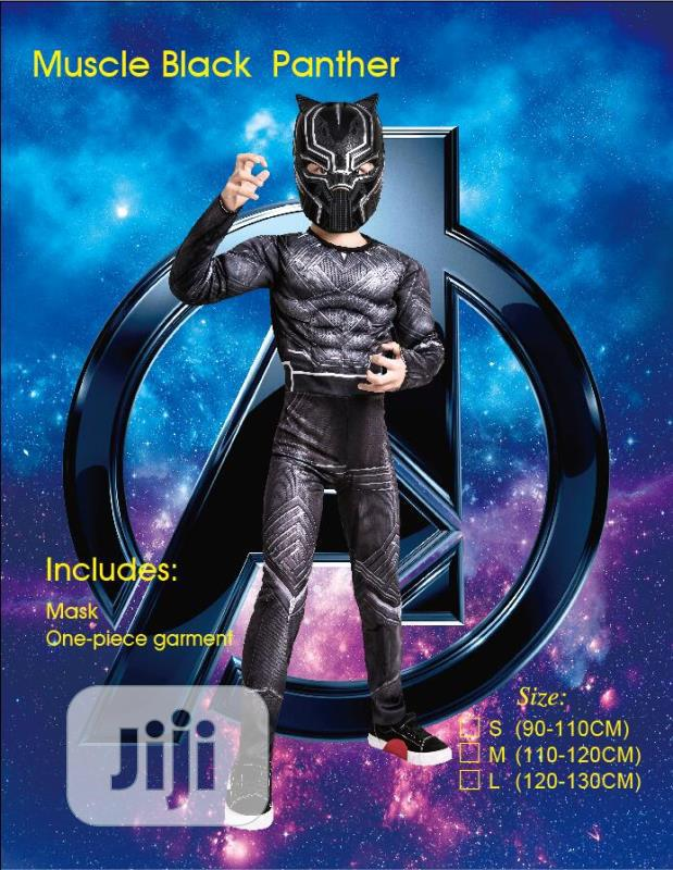 Lastest Edition Padded Black Panther Costume