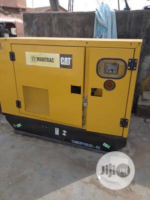 20kva Caterpillar Soundproof Desiel Generator for Sale | Electrical Equipment for sale in Lagos State, Oshodi