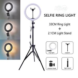 12 Inches 33CM Ring Light With Stand for Live Streaming   Accessories & Supplies for Electronics for sale in Lagos State, Ikeja