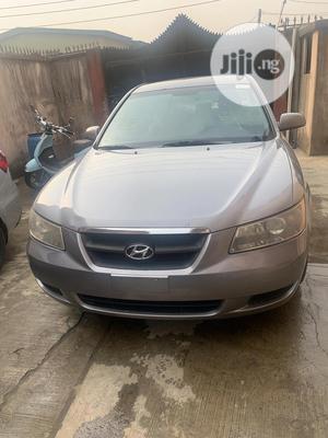 Hyundai Sonata 2008 2.4 Gray | Cars for sale in Lagos State, Ojodu