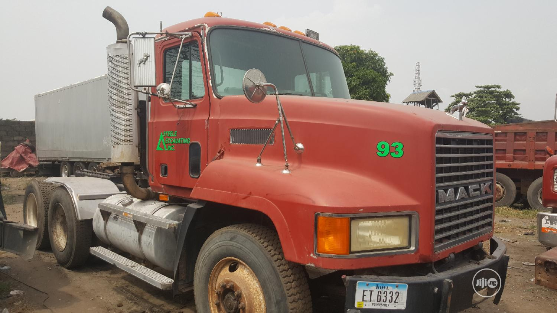 New Arrival CH MACK Ten Tyres Head Truck Spring Suspension