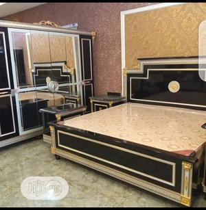 Set of ( Royal) Bed + Wardrobe.   Furniture for sale in Lagos State, Ajah