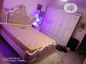 Set of Royal Bed + Wardrobe.   Furniture for sale in Lagos State, Apapa