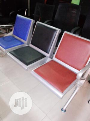 Quality Airport Chair With Leather   Furniture for sale in Lagos State, Magodo