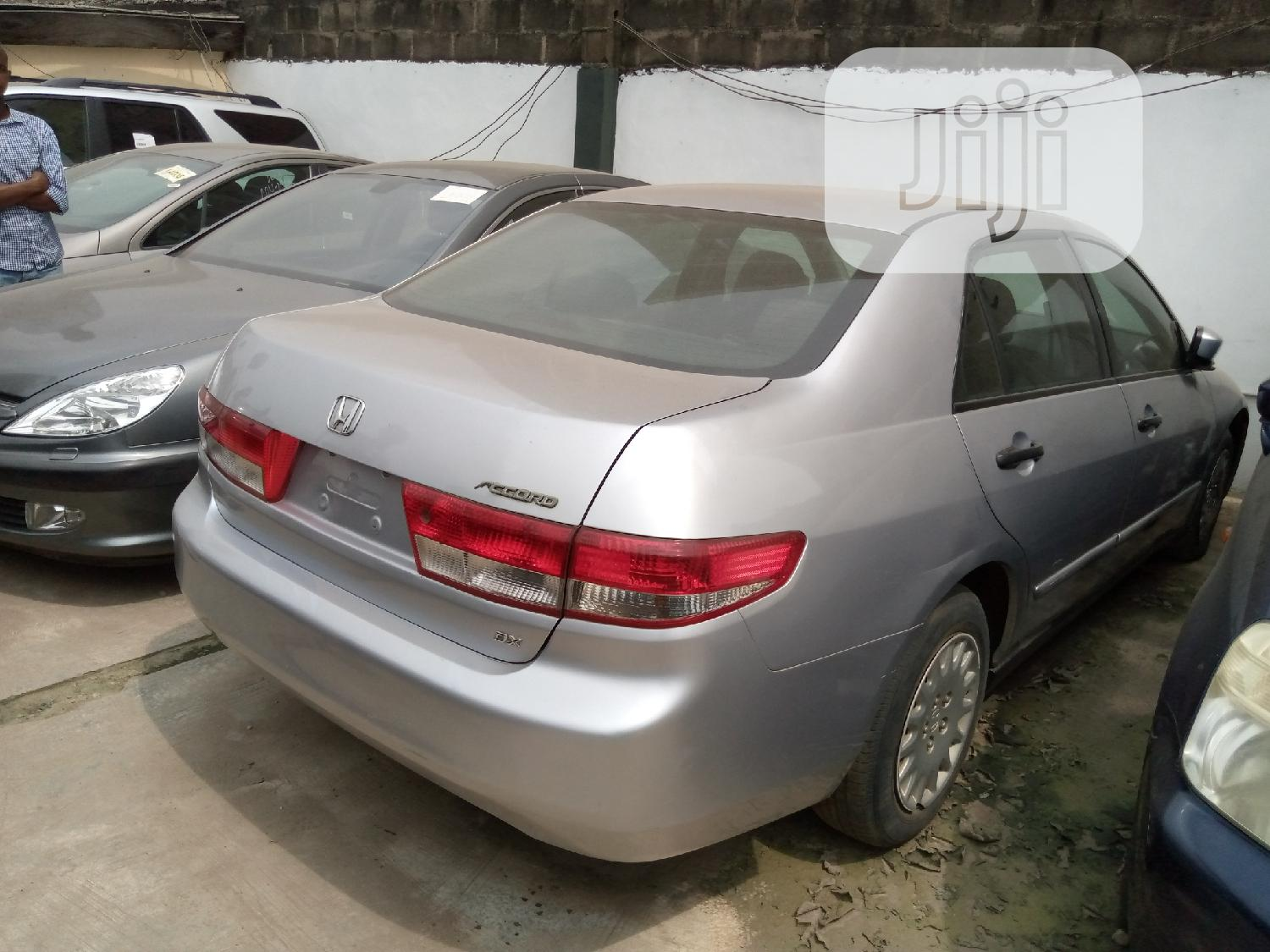 Honda Accord 2004 Automatic Silver | Cars for sale in Ikeja, Lagos State, Nigeria