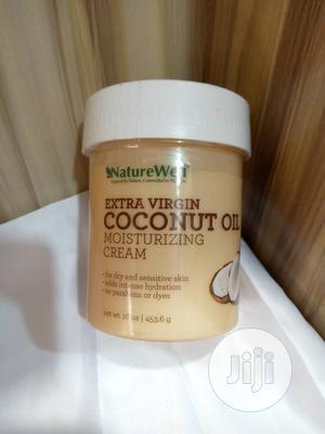 Naturewell Extra Virgin Coconut Oil Moisturizing Cream | Skin Care for sale in Lagos State, Amuwo-Odofin